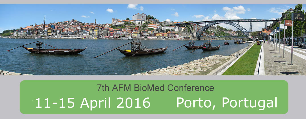 Location of the 7th AFM BioMed Conference is Porto, Portugal in Spring 2016.