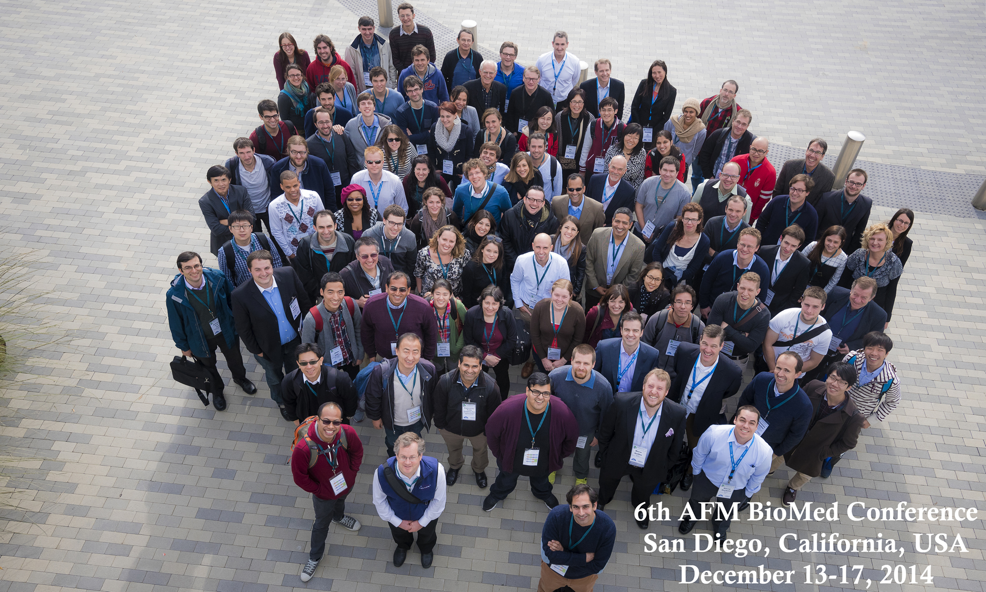 AFM BioMed Conference San Diego 2014 summary photo.